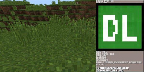 Мод на принтер для Minecraft PE 0.13.0/0.13.1