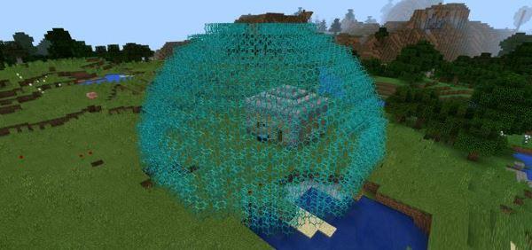 Мод на силовое поле для Minecraft PE 0.13.0/0.13.1
