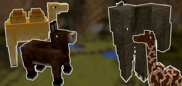 Мод на существа для Minecraft PE 0.13.0/0.13.1