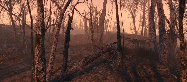 Vivid Fallout - Trees / Яркий Fallout - Деревья для Fallout 4