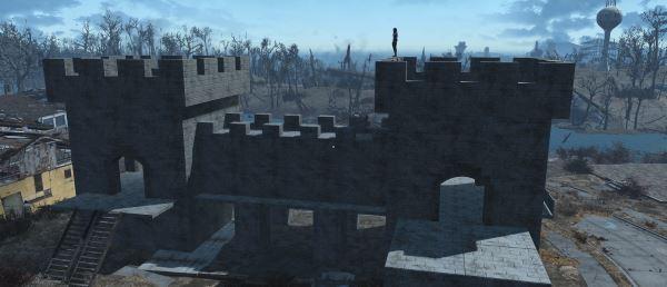 Build A Castle / Построй замок для Fallout 4