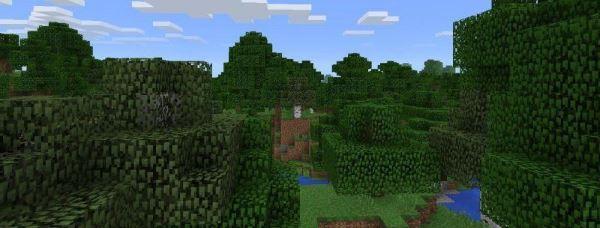Сид на болото с домом ведьмы в Майнкрафт ПЕ 0.14.0