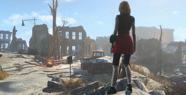 Короткие платья и юбки для Fallout 4