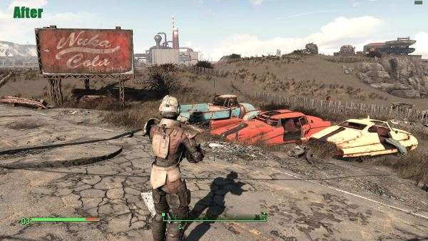 Classic Fallout Color для Fallout 4