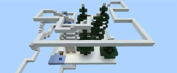 Sprint - карта для Minecraft PE 0.14.0/0.13.1
