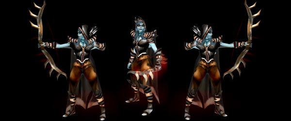 Сильвана для Warcraft 3