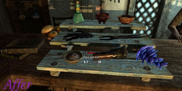 FIF - Flora Ingredients Food для TES V: Skyrim