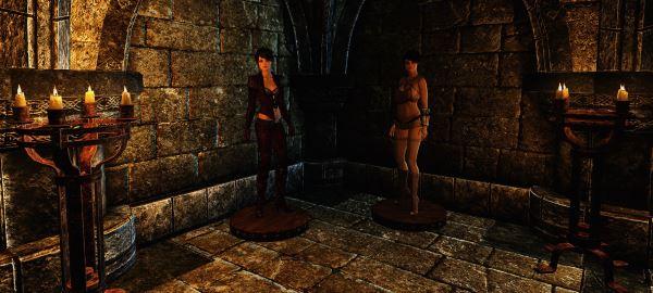 DEM Манекены Лилит и Ева для TES V: Skyrim