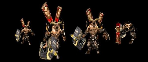 Таурен титан для Warcraft 3