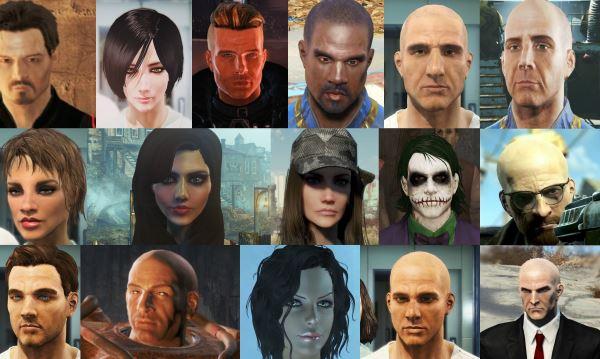 Сборка лиц v 2.0 для Fallout 4
