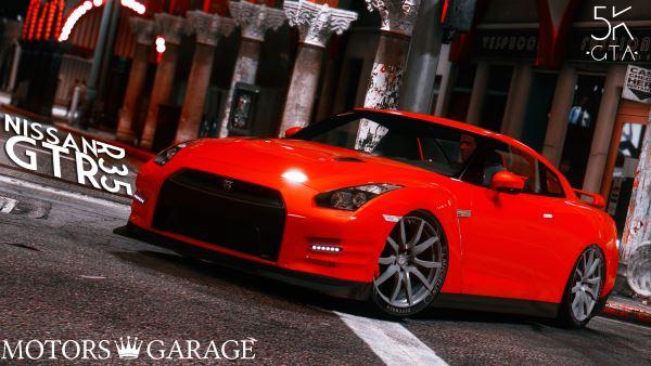 Nissan GTR R35 для GTA 5