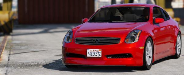 Infiniti G35 для GTA 5