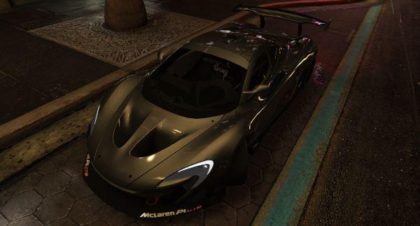 McLaren P1-GTR для GTA 5