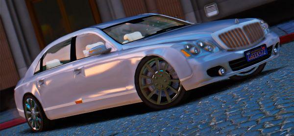 Maybach 62 S 2009 для GTA 5