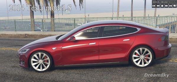 Tesla Model S 2014 для GTA 5