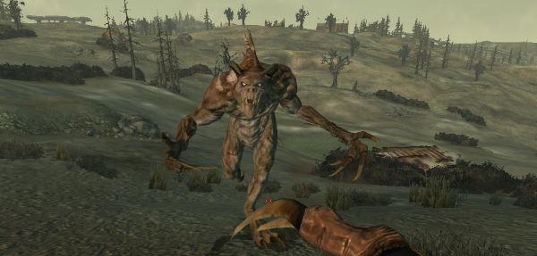 Сильные мутанты на Пустоши для Fallout 3
