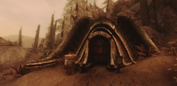 Redspire Manor / Поместье Красный Шпиль для TES V: Skyrim