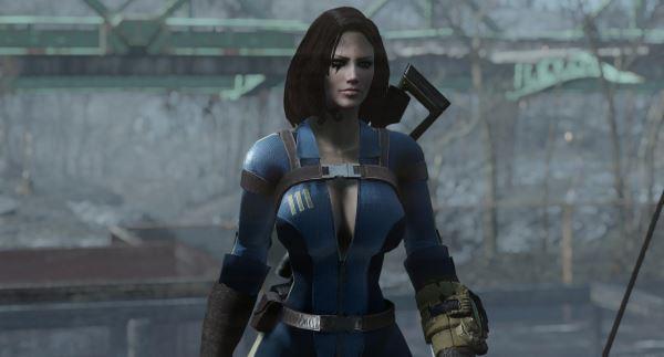 Slooty Vault Jumpsuit для Fallout 4
