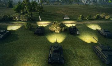 Мод Включить фары в World of Tanks 0.9.16