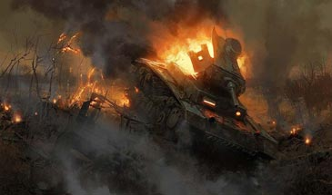 Enemy Fire - озвучка поджога противника для World of Tanks 0.9.16