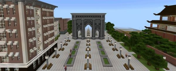 Карта New Craft City для Minecraft PE 0.14.0/0.13.1