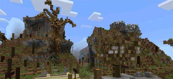 Fallout - карта на выживание для Minecraft PE 0.14.0
