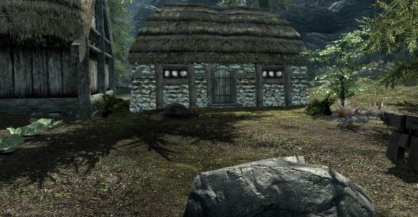 Небольшой дом в Ривервуде для TES V: Skyrim