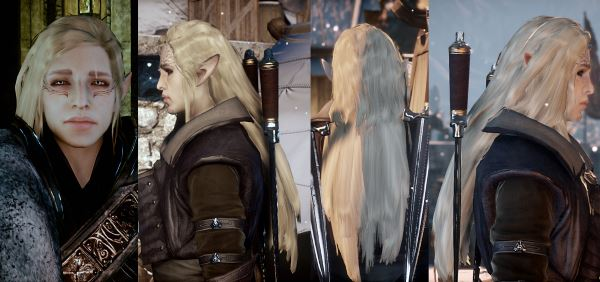 Illias Long Hair for All для Dragon Age: Inquisition