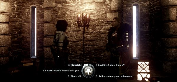 Restored Cullen Dialogue для Dragon Age: Inquisition