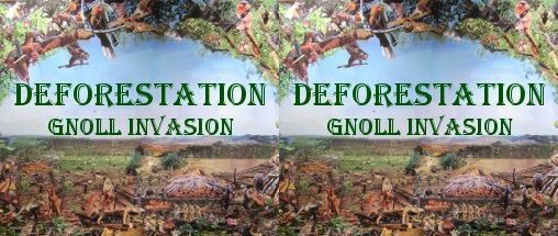 Deforestation: Gnoll Invasion для Warcraft 3