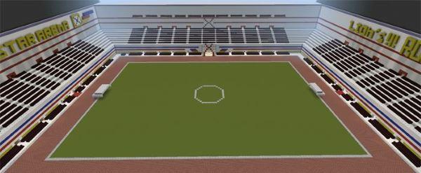 Central Star Arena - карта для Minecraft PE 0.14.0/0.13.1