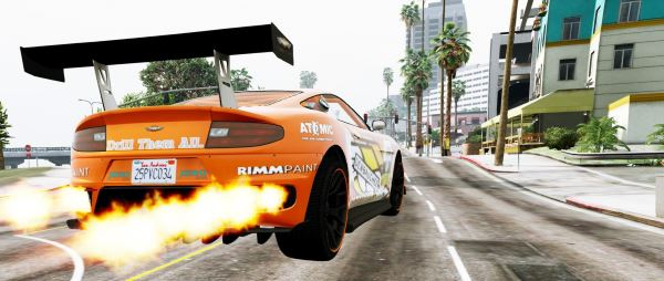 Realistic Nitro для GTA 5