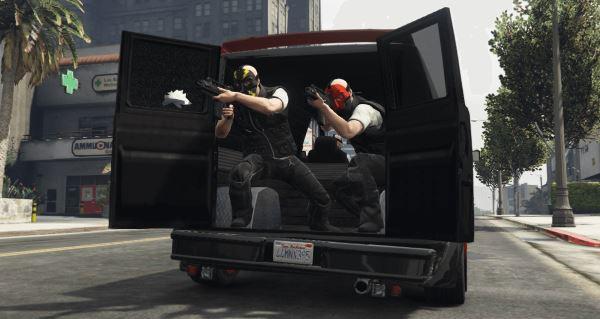 Heist Project для GTA 5