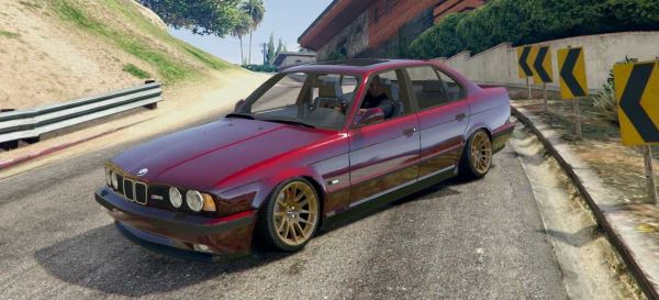 BMW M5 E34 [Add-On] для GTA 5