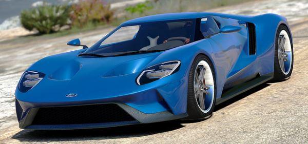 Ford GT 2017 для GTA 5