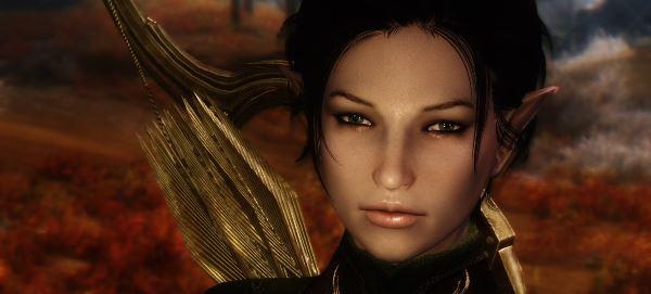 Elven Follower Aranya / Арания - компаньонка-эльф для TES V: Skyrim