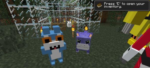 Digimobs для Minecraft 1.7.10