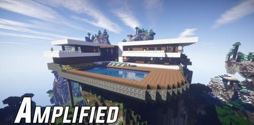 Amplified для Minecraft 1.8.9