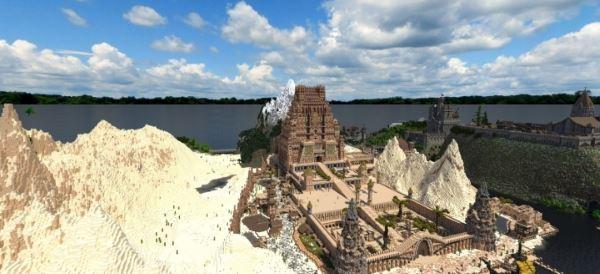 Temple of Adis для Minecraft 1.8.9