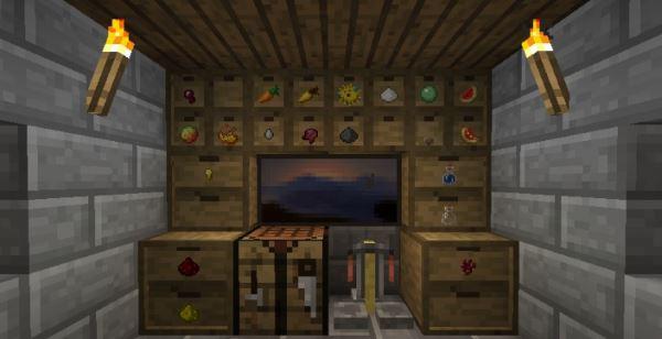 Storage Drawers для Minecraft 1.8.9