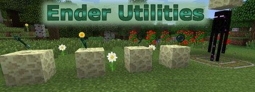 Ender Utilities для Minecraft 1.8.9