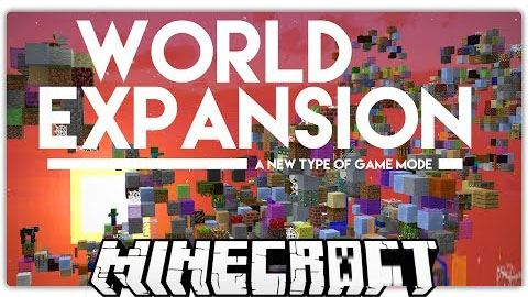 World Expansion для Minecraft 1.8.9