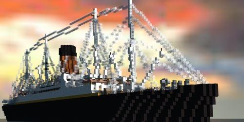 RMS Carpathia для Майнкрафт 1.8.9