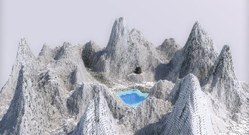 Qlenn Mountain для Майнкрафт 1.8.9