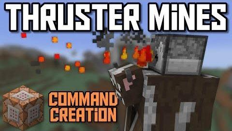 Thruster Mines для Майнкрафт 1.9