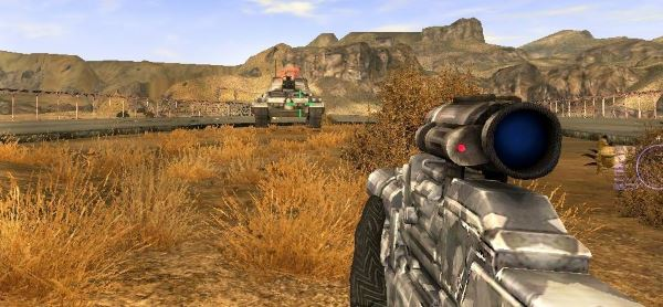 Moving tank and heli для Fallout: New Vegas