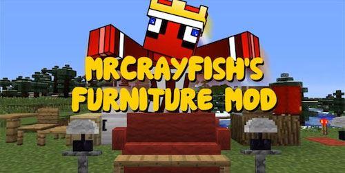 MrCrayfish's Furniture для Майнкрафт 1.8.9