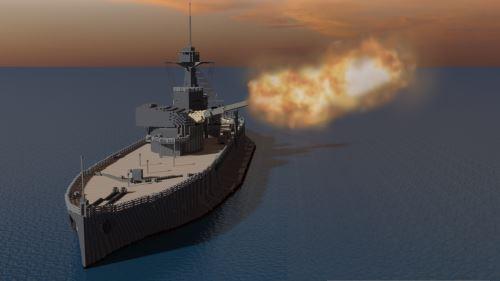 HMS Erebus для Майнкрафт 1.8.9