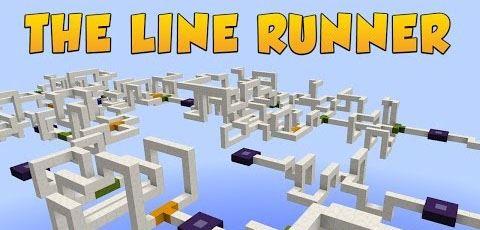 The Line Runner для Майнкрафт 1.8.9