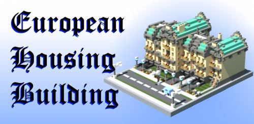 European Housing Building для Майнкрафт 1.8.9